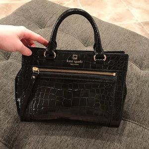 Kate Spade mini Romy croco bag🖤🐊